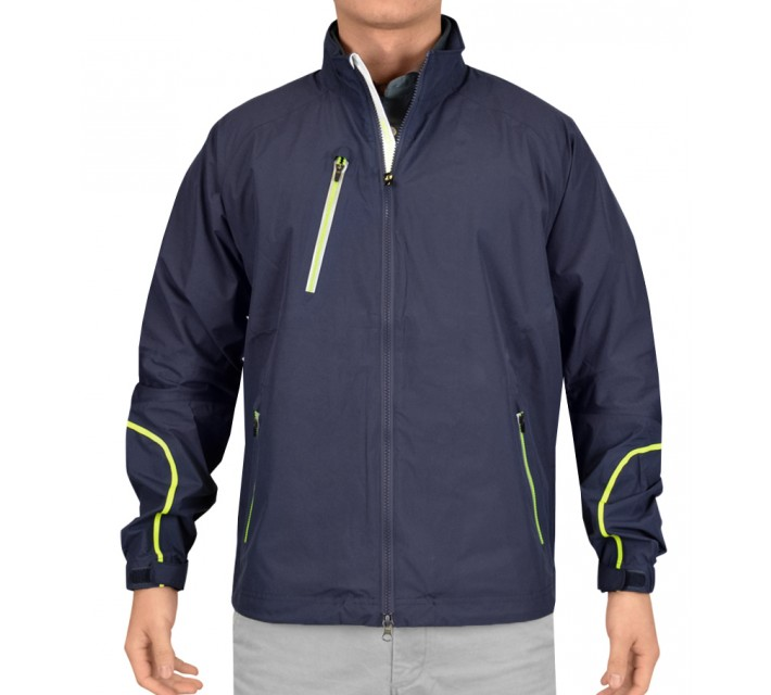 ZERO RESTRICTION POWER TORQUE FULL ZIP JACKET BLUE INDIGO - SS15