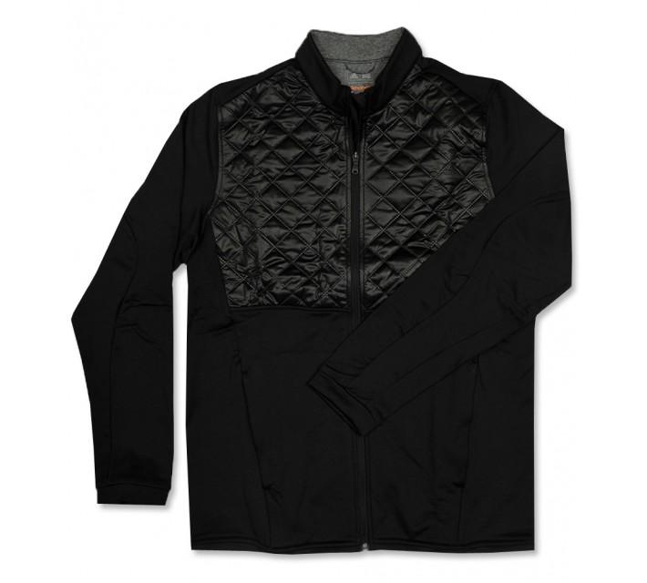 ADIDAS CLIMAHEAT PRIME QUILTED FULL ZIP JACKET BLACK - AW16