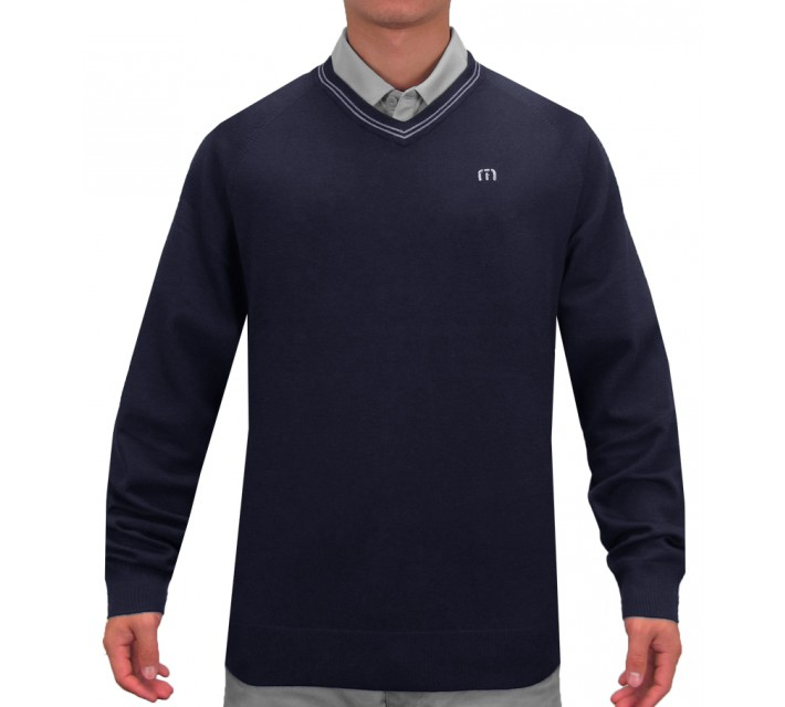 TRAVISMATHEW THE PROFESSIONAL SWEATER IRIS - SS15