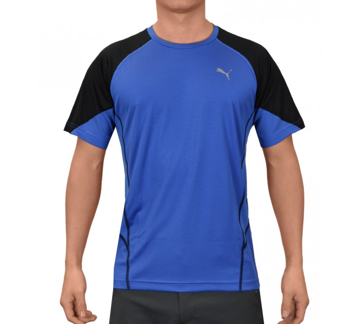 PUMA FITNESS PT AT COOL NOV TEE STRONG BLUE - SS15