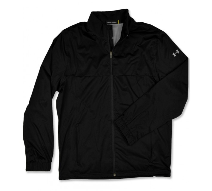 UNDER ARMOUR STORM RAIN JACKET BLACK - SS16