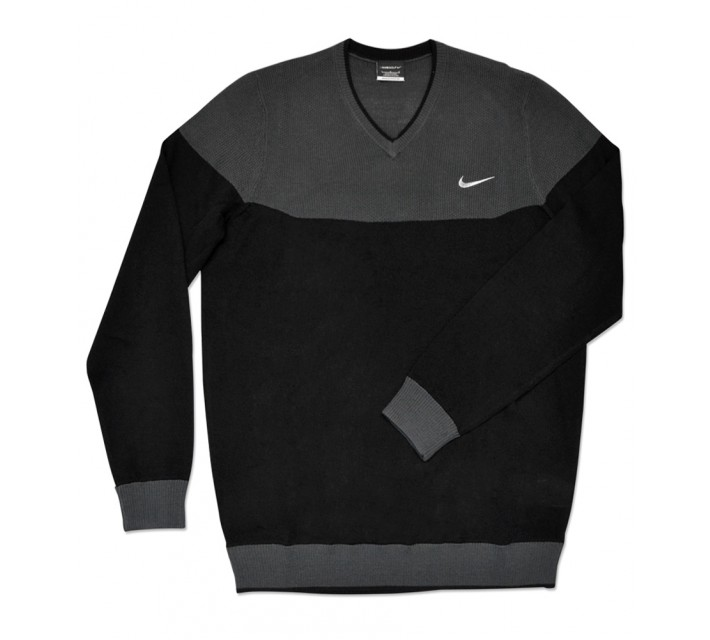 NIKE RANGE CB V-NECK SWEATER ANTHRACITE - SS16 CLOSEOUT
