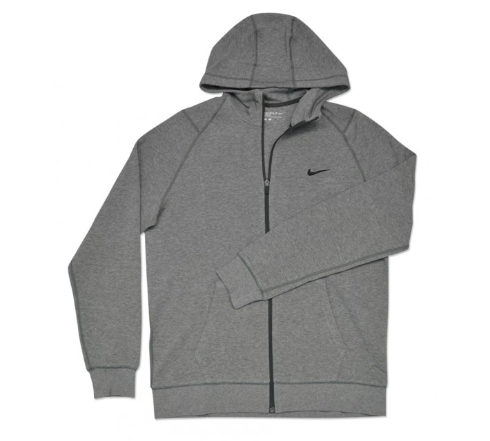 NIKE RANGE SWEATER HOODIE CARBON HEATHER - SS16 CLOSEOUT