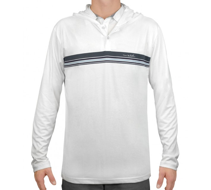 TRAVISMATHEW REEVES SWEATER WHITE - AW15