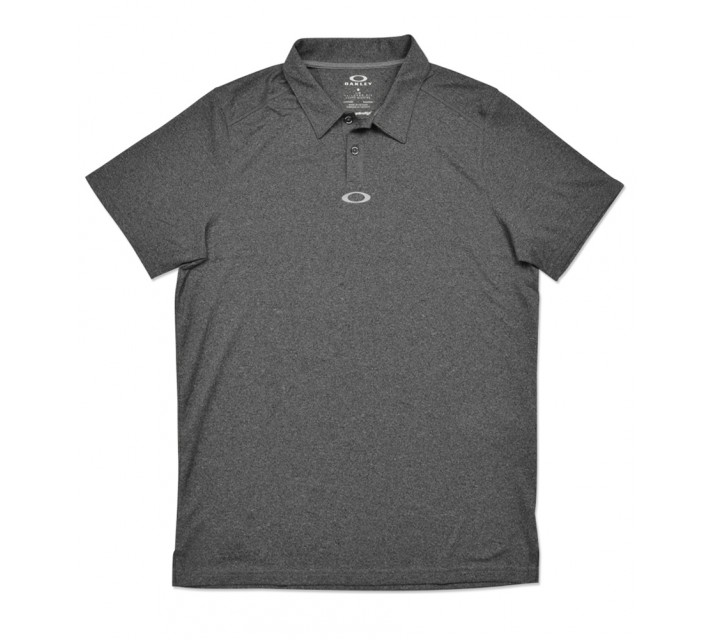 OAKLEY ROMAN POLO JET BLACK HEATHER - SS16