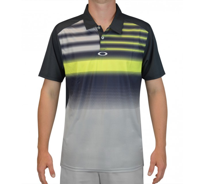 OAKLEY RUSSELL POLO GRAPHITE - SS15