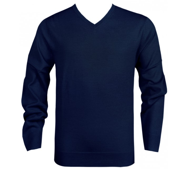 DUNNING MERINO V NECK SWEATER HALO - SS16