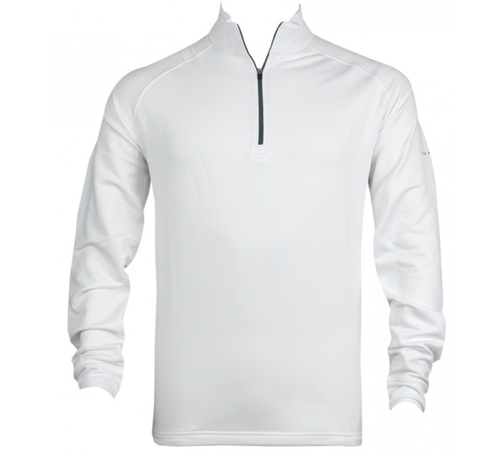 DUNNING STRETCH THERMAL 1/4 ZIP WHITE - AW16