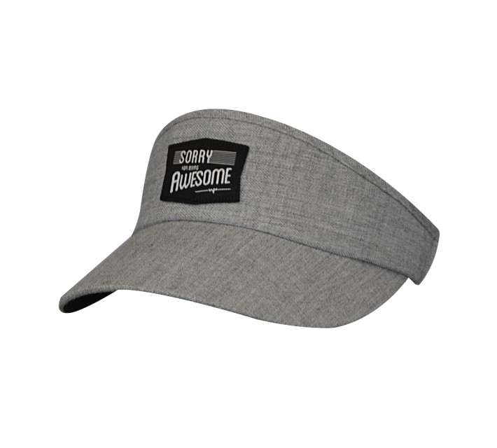 TRAVISMATHEW SAMPSONITE VISOR GREY - SS15