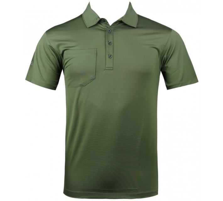 MATTE GREY SARGE POLO OLIVE - SU13
