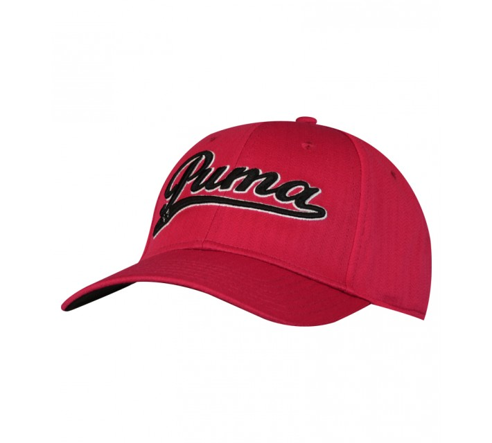PUMA SCRIPT COOL CELL RELAXED CAP RED - AW15