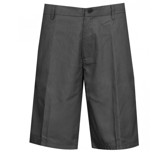 SLIGO PATTERN GOLF SHORTS BLACK SEERSUCKER - AW15