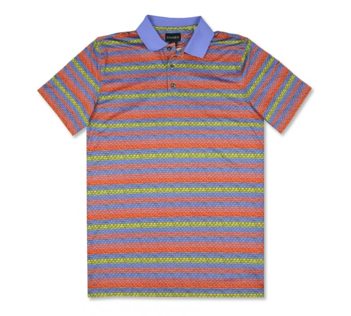 CHASE54 SHEEN POLO MULTI - SS16