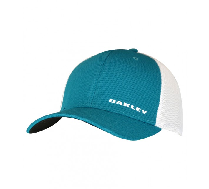 OAKLEY SILICON BARK TRUCKER 4.0 HAT AURORA BLUE - AW15
