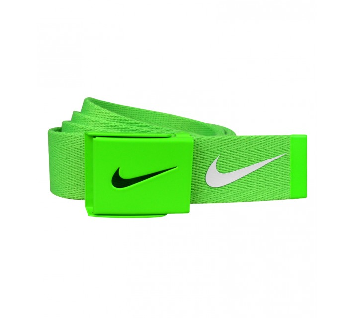NIKE TECH ESSENTIALS SINGLE WEB GREEN STRIKE - AW15 CLOSEOUT