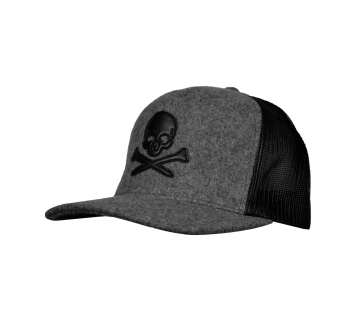 G/FORE SKULL TRUCKER HAT CHARCOAL - AW16