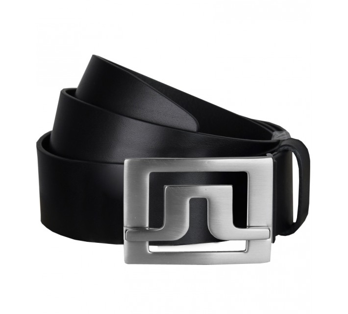 J. LINDEBERG SLATER 40 PRO LEATHER BELT BLACK - SS17