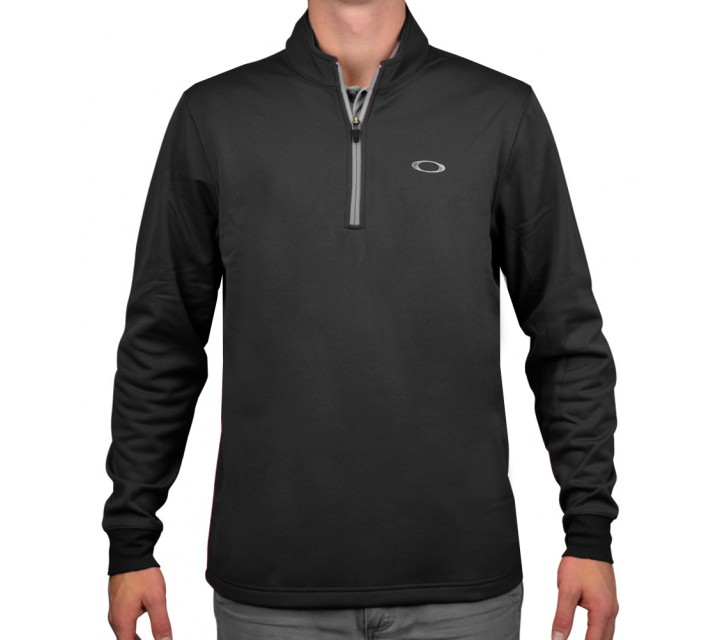 OAKLEY SOLID FLEECE JET BLACK - AW15