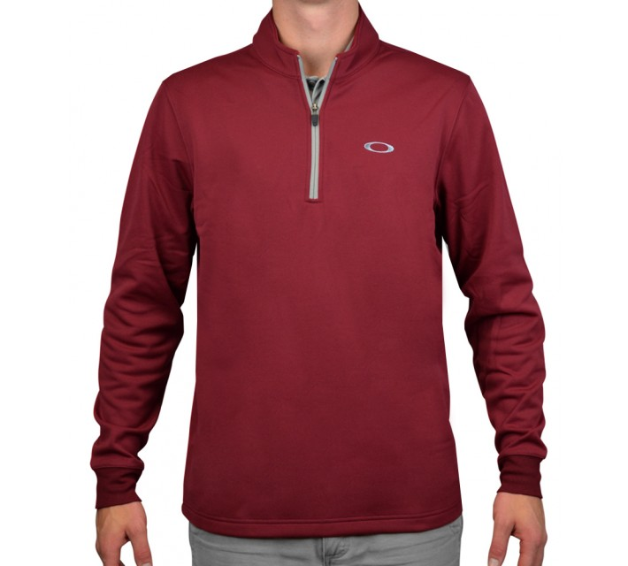OAKLEY SOLID FLEECE NEW CRIMSON - AW15