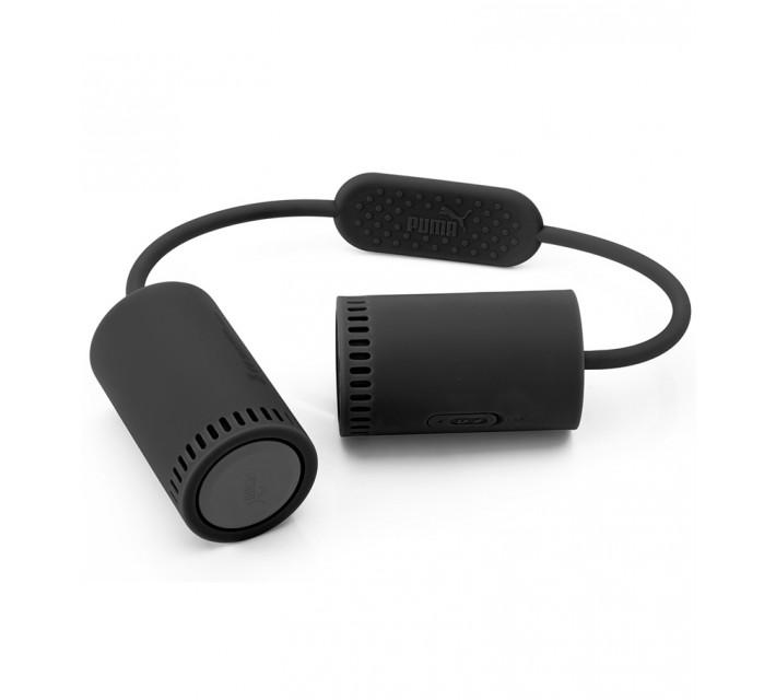 PUMA SOUNDCHUCK PORTABLE BLUETOOTH SPEAKERS BLACK - SS17