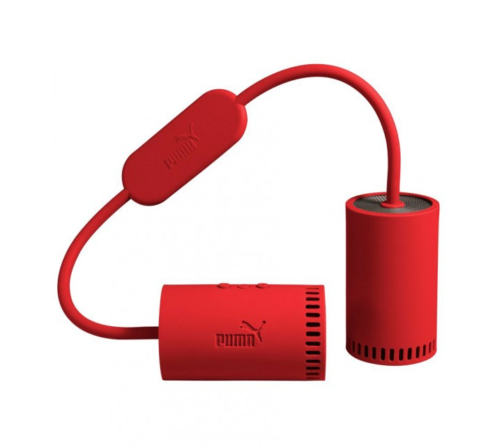 PUMA SOUNDCHUCK PORTABLE BLUETOOTH SPEAKERS HIGH RISK RED - AW16