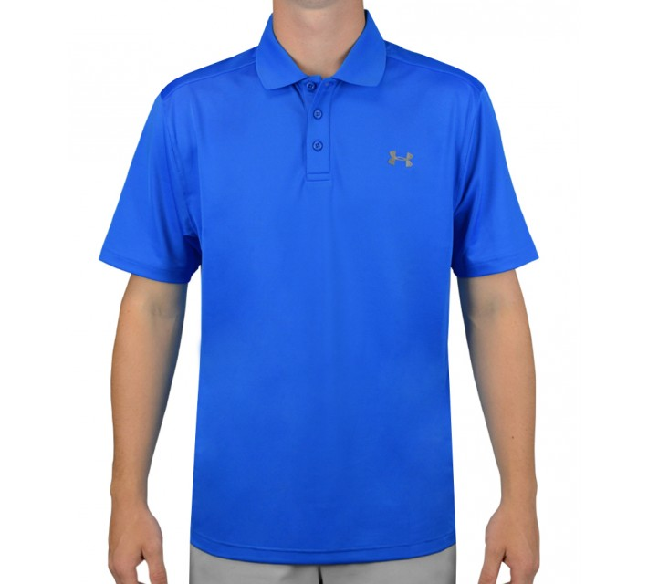 UNDER ARMOUR PERFORMANCE GOLF POLO BLUE JET - AW15