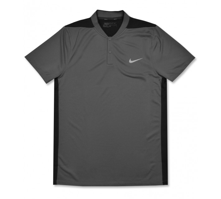 NIKE MAJOR MOMENT FLY SPHERE BLOCKED POLO DARK GREY - AW16