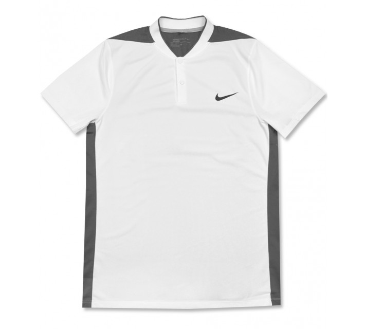 NIKE MAJOR MOMENT FLY SPHERE BLOCKED POLO WHITE - AW16