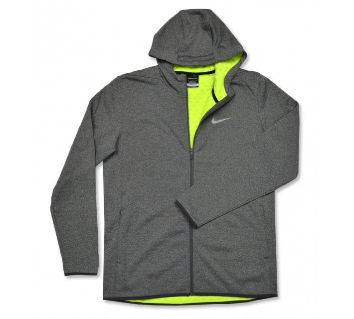NIKE TECH SPHERE FULL ZIP HOODIE CARBON HEATHER - AW16 CLOSEOUT