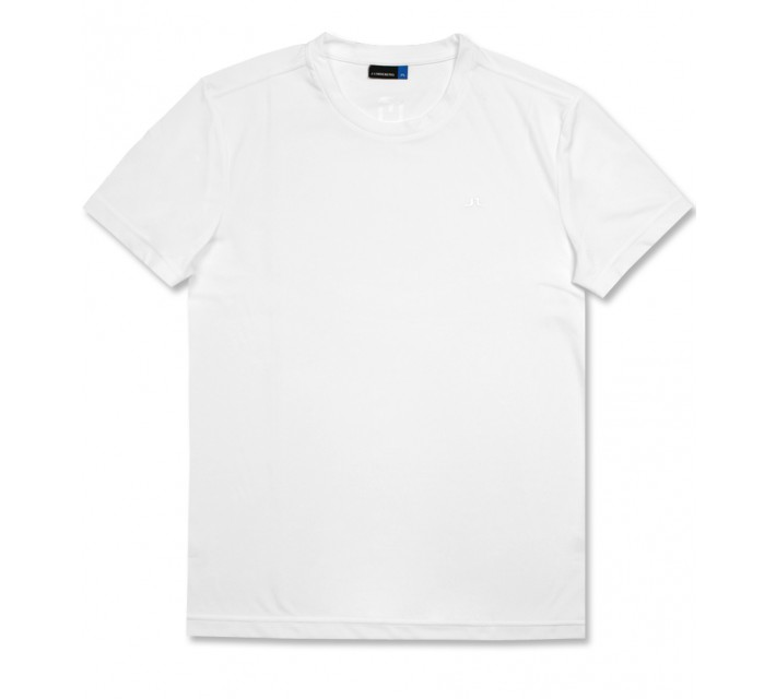 J. LINDEBERG SPORT TEE TX JERSEY WHITE - AW16
