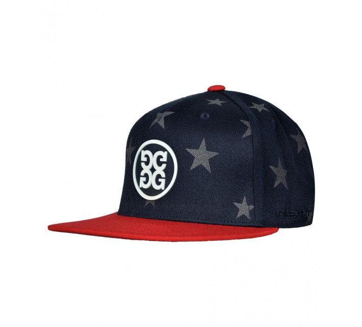 G/FORE STARS AND STRIPES FLAT BRIM HAT PATRIOT - AW16