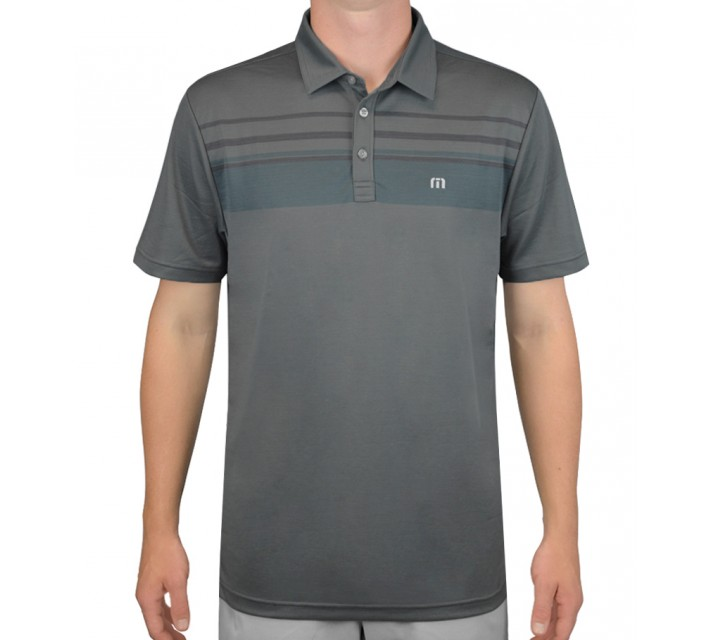 TRAVISMATHEW GOLF SHIRT STEAMERS GRIFFIN - AW15