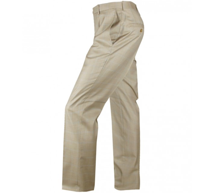 ARISTO 18 STIRLING FLAT FRONT TROUSER GOLD/ATLANTIC - 2013