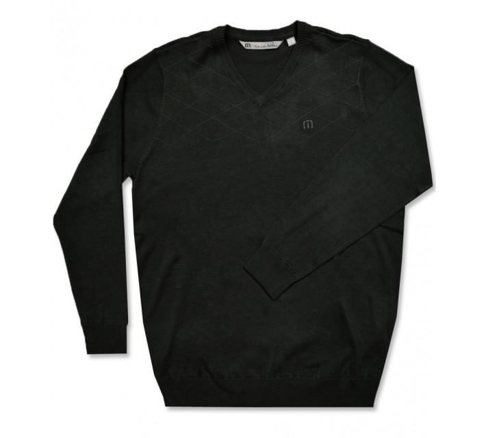 TRAVISMATHEW STONE SWEATER BLACK - AW16
