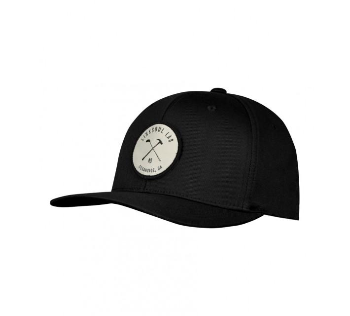 LINKSOUL STRUCTURED LAB HAT BLACK - SS16