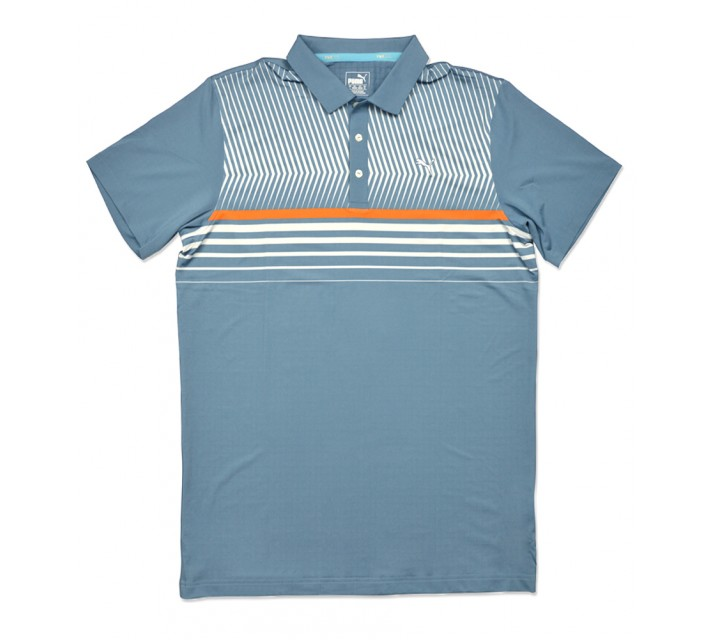 PUMA SURFACE STRIPE POLO BLUE HEAVEN - SS16