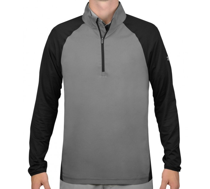 UNDER ARMOUR SWEET SPOT 1/2 ZIP PULLOVER GRAPHITE/BLACK - SS16