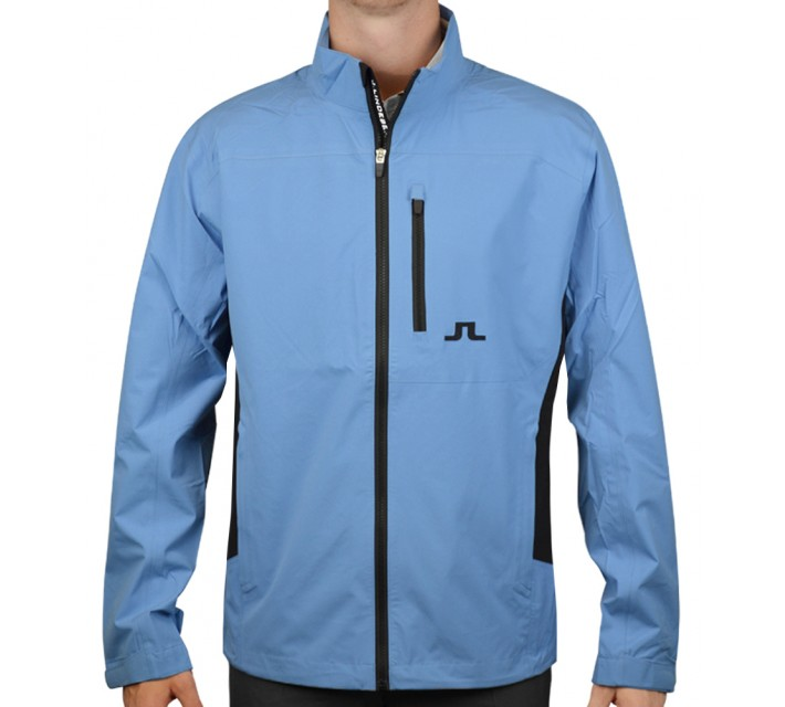 J. LINDEBERG SWING JACKET 2.5 PLY BLUE INTENSE - AW15