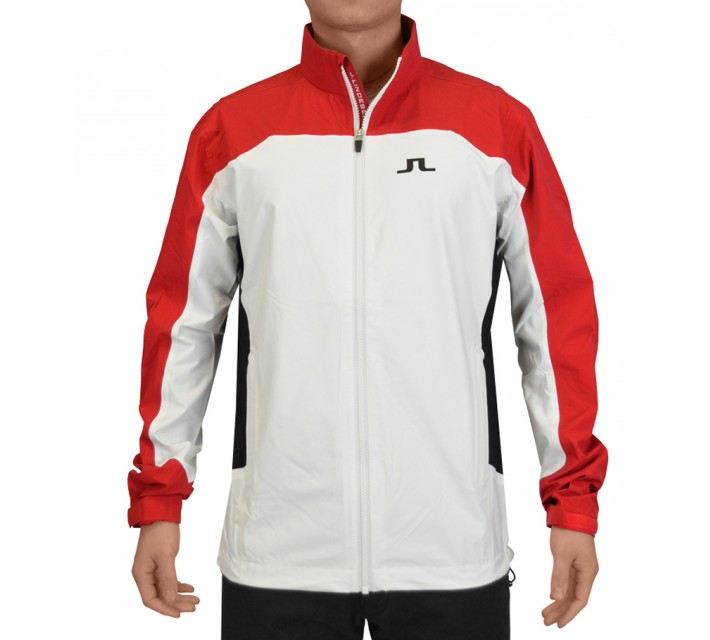 J. LINDEBERG SWING JACKET 2.5 PLY RED INTENSE - SS15