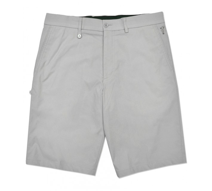 GOLFINO TECHNO STRETCH BERMUDA SHORT LIGHT SILVER GREY - SS16