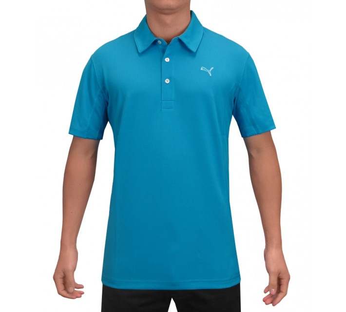 PUMA GOLF TECH POLO HAWAIIAN OCEAN - AW15