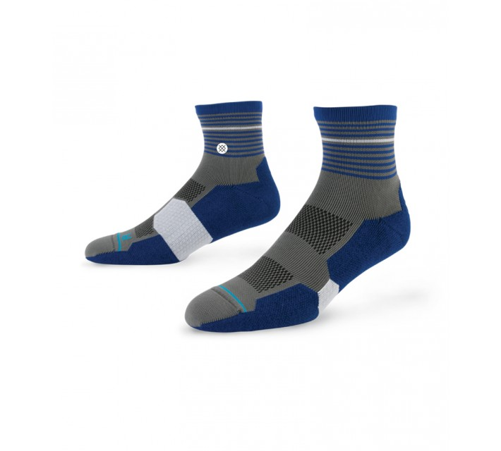 STANCE GOLF SOCKS TEE QUARTER NAVY - AW15
