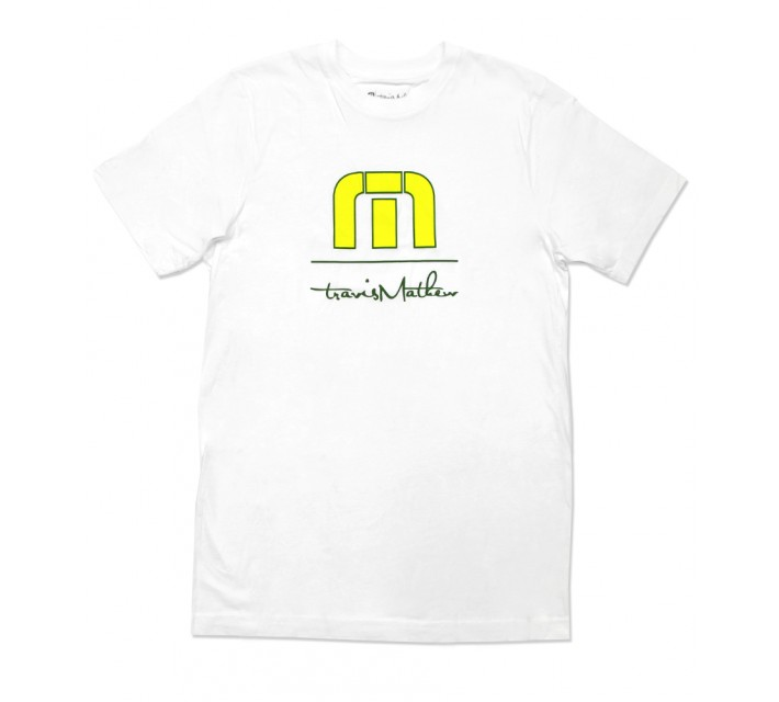 TRAVISMATHEW THAT TIME AGAIN T-SHIRT WHITE - SS16
