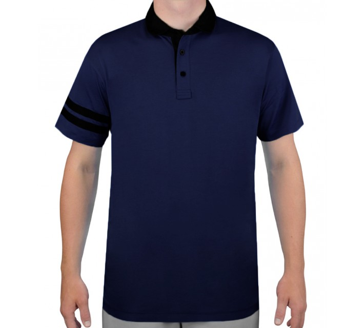 DEVEREUX THE DEVEREUX GOLF POLO NAVY/CAVIAR - AW15