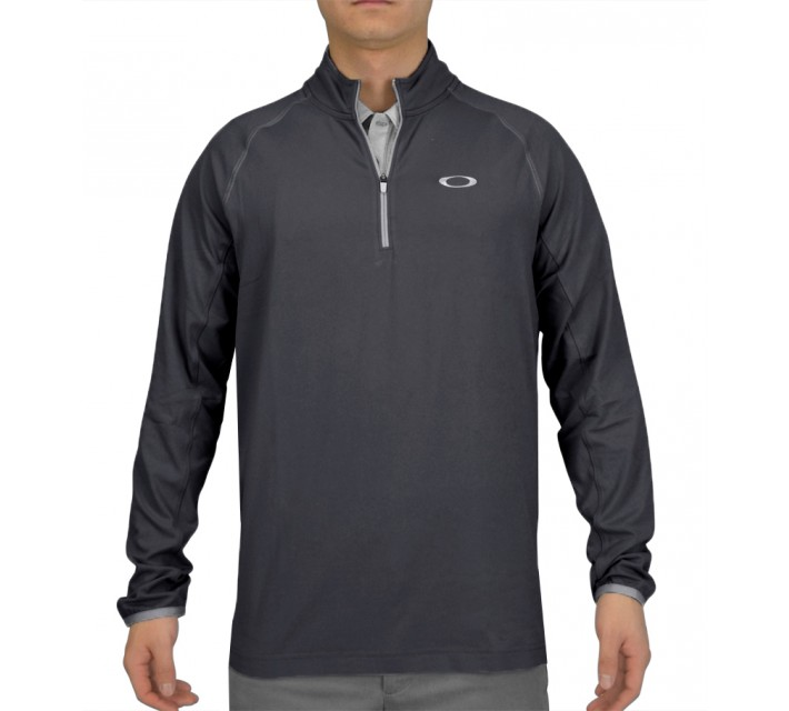 OAKLEY THEO 1/4 ZIP PULLOVER GRAPHITE - AW15