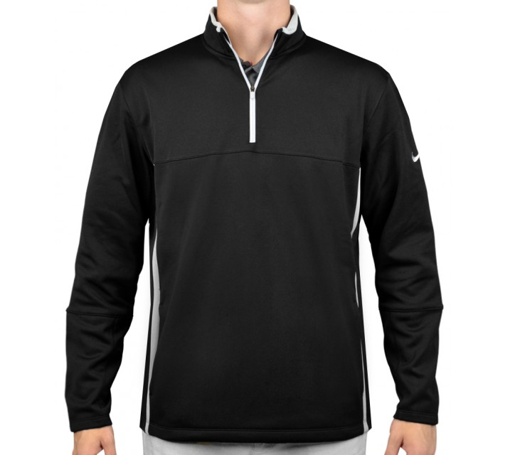 NIKE THERMA-FIT COVER-UP BLACK  - AW15 CLOSEOUT