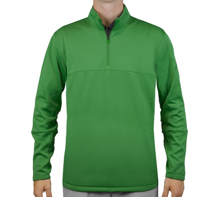 NIKE THERMA-FIT COVER-UP CLASSIC GREEN - AW15 CLOSEOUT