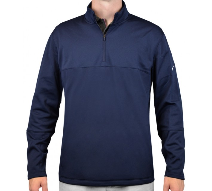 NIKE THERMA-FIT COVER-UP COLLEGE NAVY - AW15 CLOSEOUT