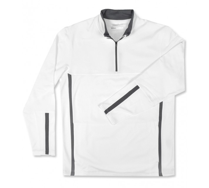 NIKE THERMA-FIT COVER-UP WHITE - AW16