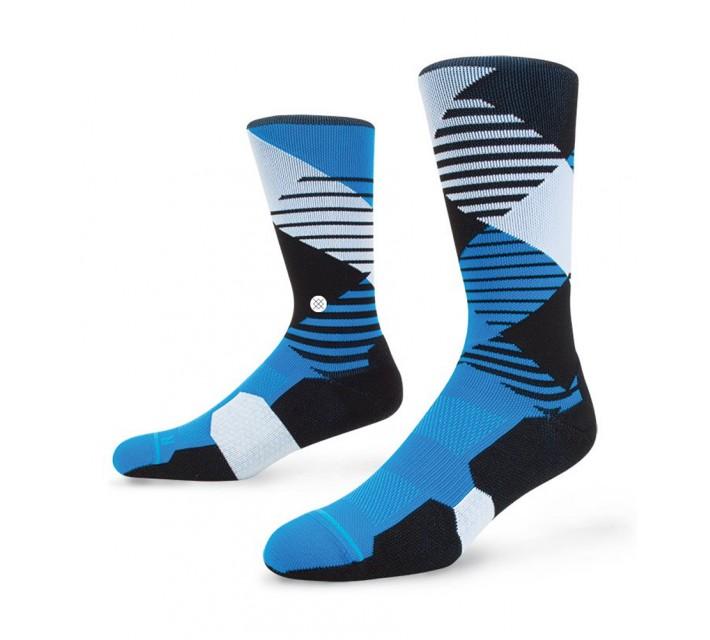 STANCE GOLF SOCKS THREADED BLUE - SS16